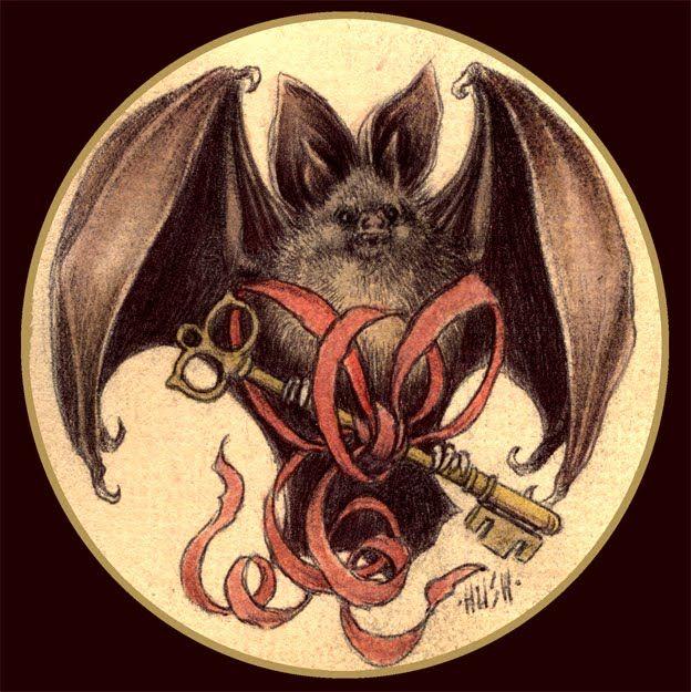 jeremy hush bat illustration