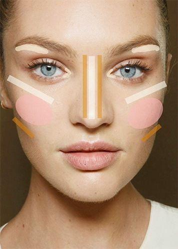 Tipps, wie man rundes Gesicht dünner aussehen lässt – Makeup kann tatsächlich Wunder tun – Ha…