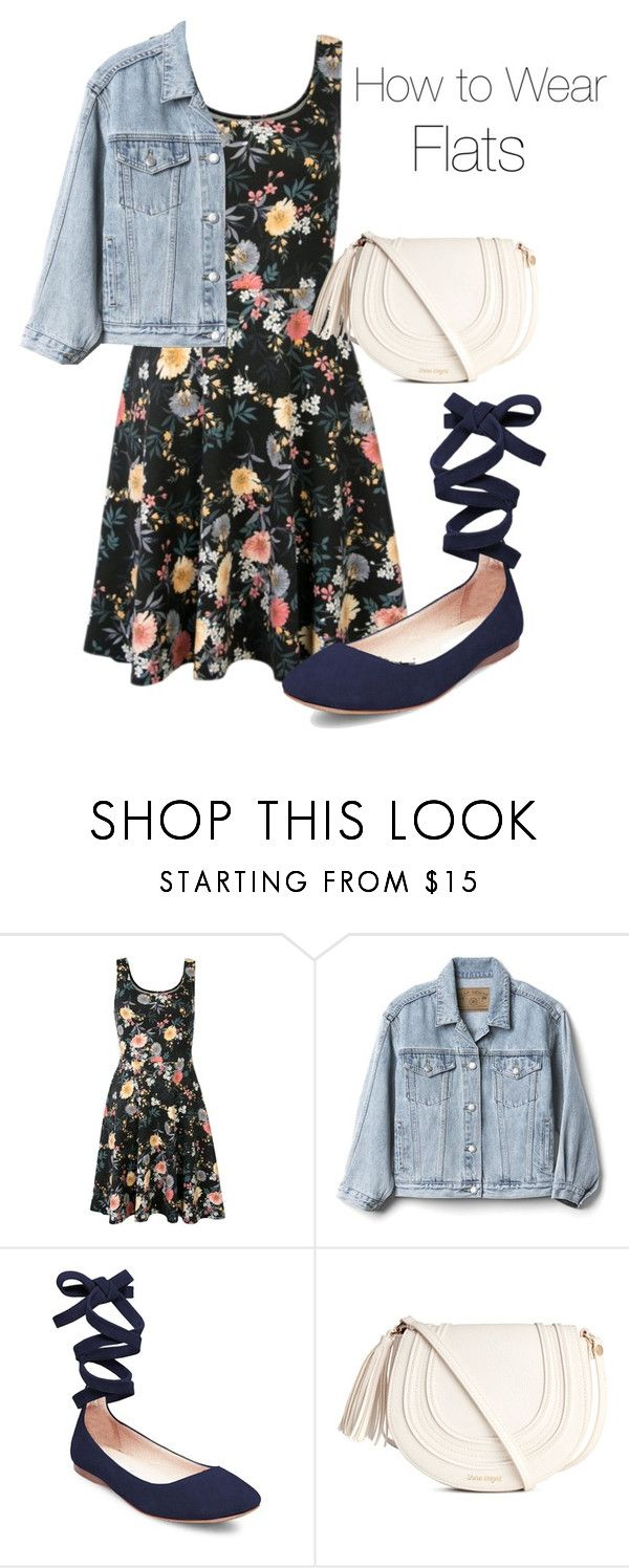"""""""How to Wear Flats"""" by mochimchimus on Polyvore featuring Gap and Steve Madden"""