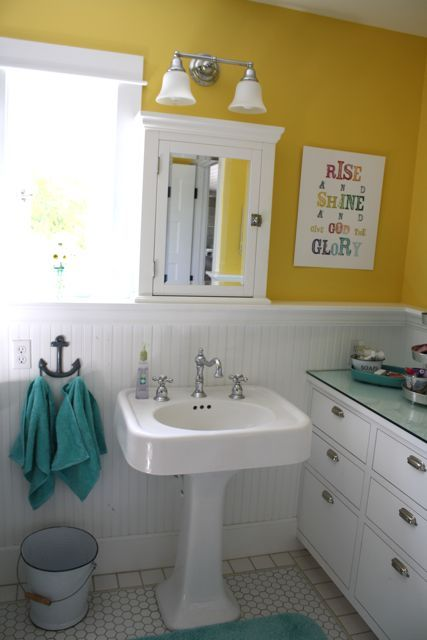 """Blog — The Pleated Poppy - Jones Design Company print for the bathroom. """"rise and shine and give God the glory"""""""