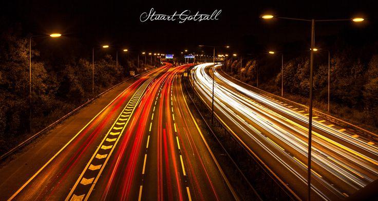 Light Trails by Stuart  Gotsall on 500px