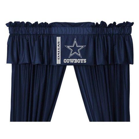 Dallas Cowboys Drapes And Valance 63 Craft Ideas