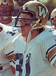 Rick House Winnipeg Blue Bombers 1983. Copyright photograph Scott Grant