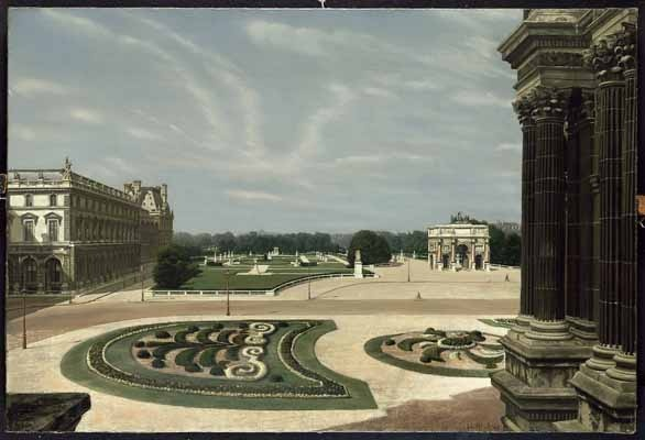 """Jardin des Tuileries"", 1948 / Carel Willink (1900-1983) / Private Collection"