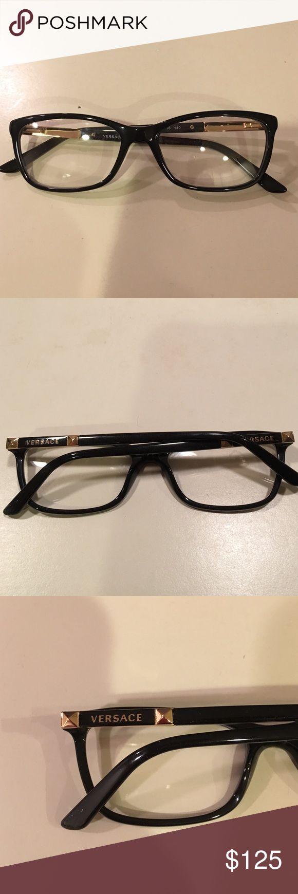 VERSACE EYEGLASSES frame new black VERSACE EYEGLASSES frame new black Versace Accessories Glasses