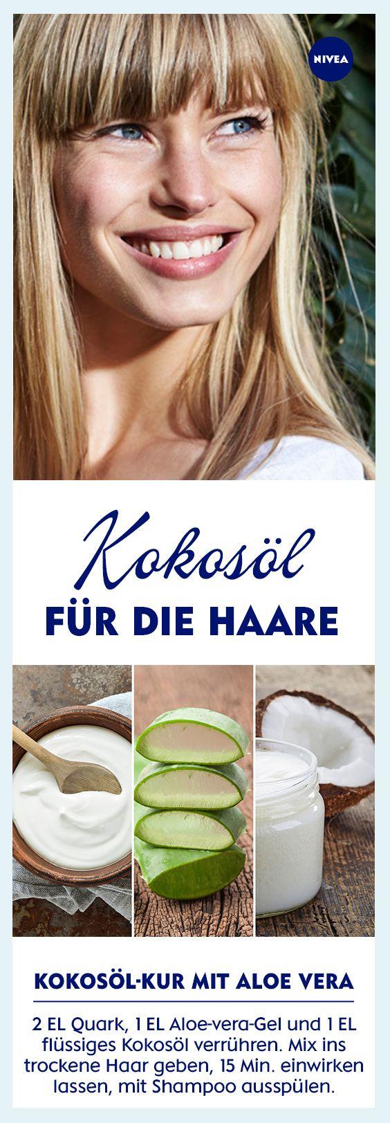 Kokosöl für die Haare: Tipps und DIY-Rezepte