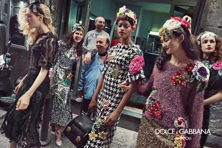 CAMPAIGN: Dolce & Gabbana Fall 2016 by Franco Pagetti