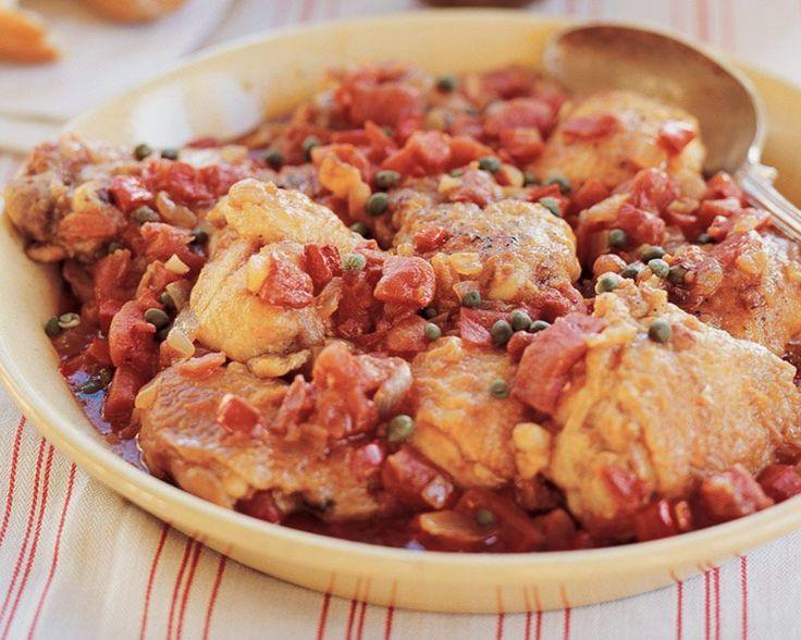 Italian Chicken Cacciatore Giada De Laurentiis