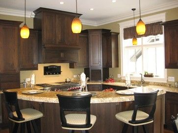 52 best kitchen ideas images on pinterest | curved kitchen island