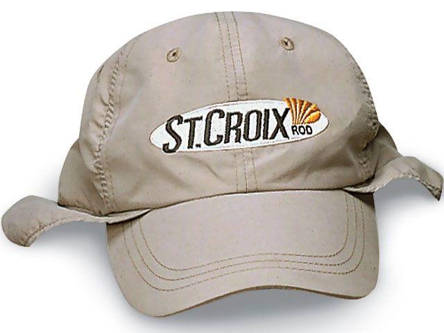 Oryginalne czapki wędkarskie St. Croix - z daszkiem lub zimowe. #wędkarstwo #czapka #akcesoria #prezent