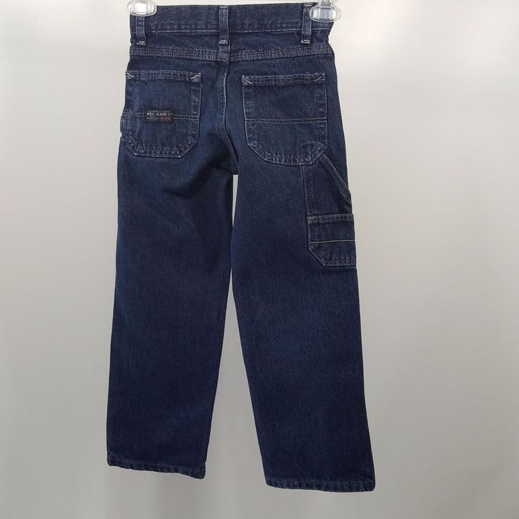 Boys Jeans WRG Jeans Authentic Issue Size 6S Adjustable Waist  #WRG #Carpenter #Everyday