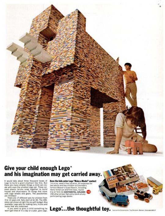 Building Creativity Brick by Brick: 22 Vintage LEGO Ads