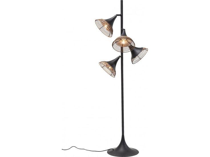 Lampa Podłogowa Rattan Quattro — Lampy podłogowe — KARE® Design