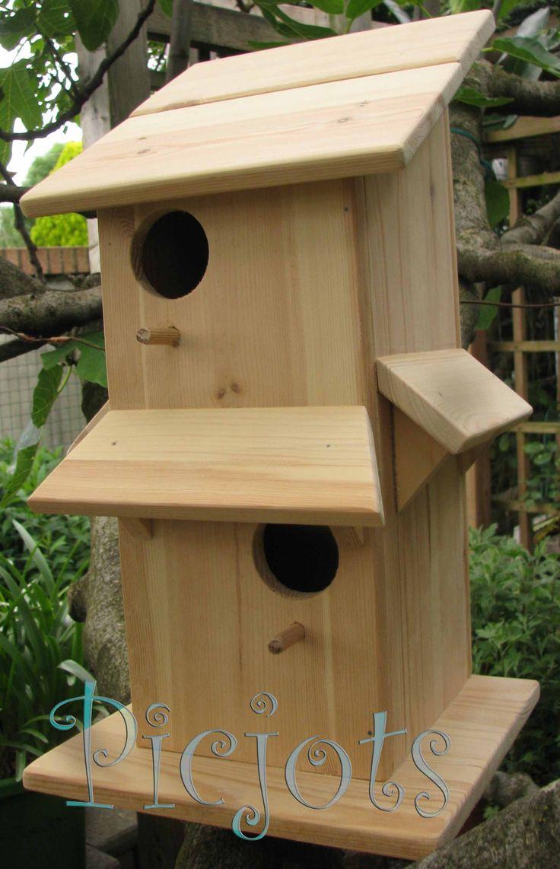 Préférence Oltre 25 idee originali per Casette per uccelli su Pinterest  LM64
