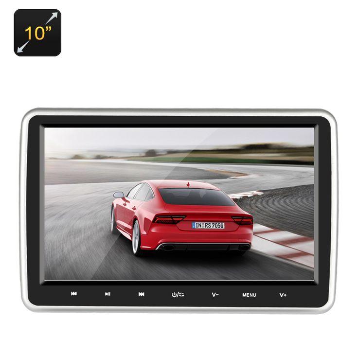 "10"" Car Headrest DVD Player - Region Free - Pick Pay Post"