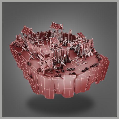 Low Poly 3D Models