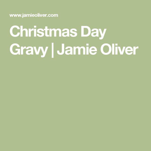 Christmas Day Gravy | Jamie Oliver