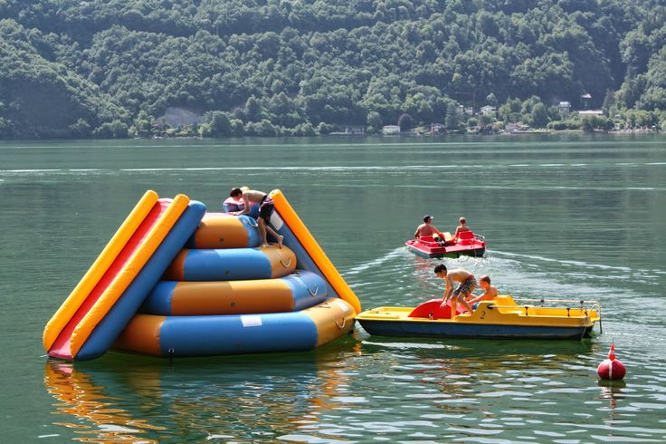 Private beach - pure fun on the lake for the kids of the guests.  Parco San Marco Lifestyle Beach Resort