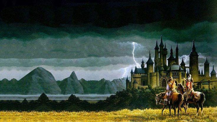 Quem não gostaria de viver em mundo de aventuras ? com castelos , princesas e cavaleiros ?