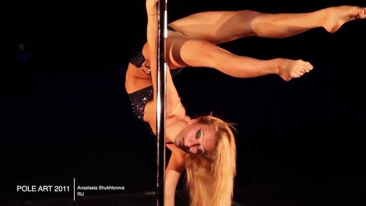 Искусство Танца на шесте Настя Шукторова Pole art