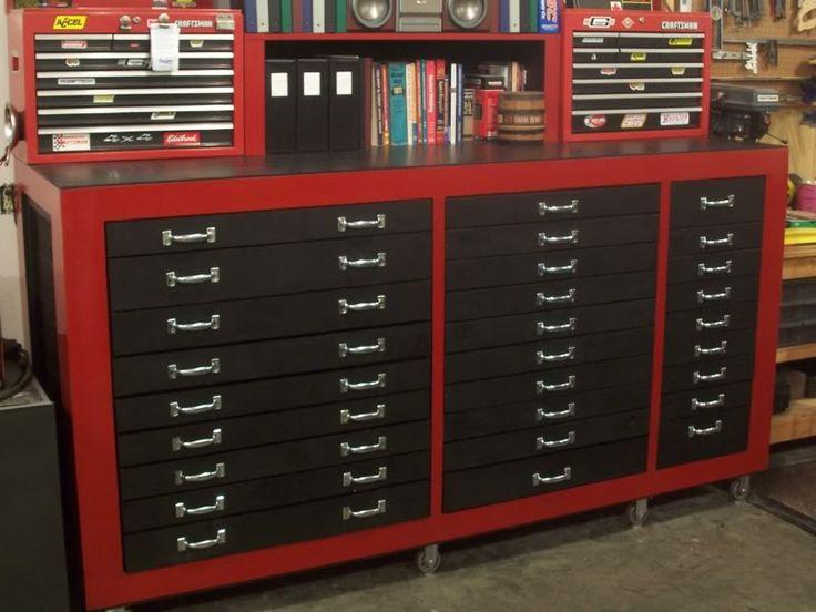 Homemade tool chest.