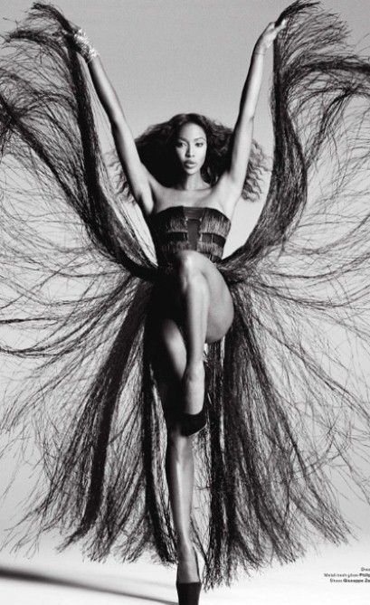 Naomi Campbell for V Magazine: Photos, Models, V Magazines, Inspiration, Tina Turner, Beautiful, Fashion Photography, Black, Naomi Campbell