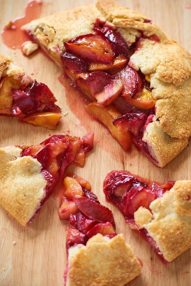 How To Make Any Fruit Galette With Just One Recipe. These EASH and impressive french desserts are a breeze to make! Perfect if you're looking for ideas and recipes for desserts to make with strawberries, cherries, nectarines, peaches, raspberries, blueberries -- any summer fruit you love. Like a homemade pie, just way easier to make.