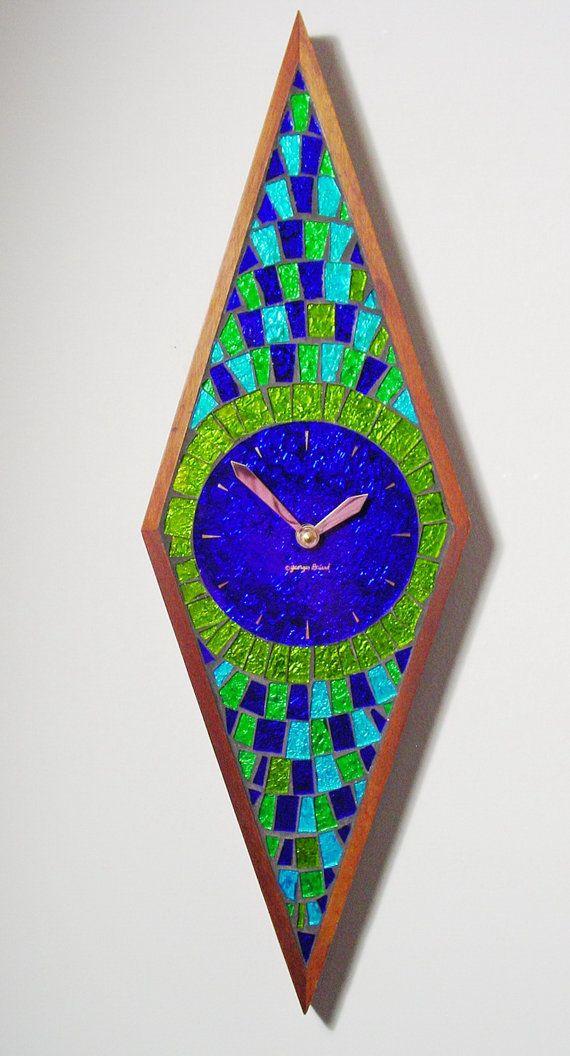 Wall Clock by Georges Briard. Mid Century Modern by ClubModerne