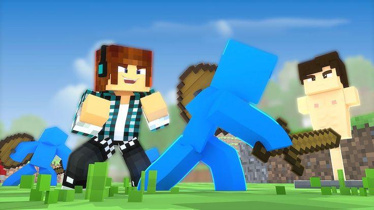 Minecraft: TREINAMENTO DE SOLDADOS !! ( Pequenos Gigantes #06)