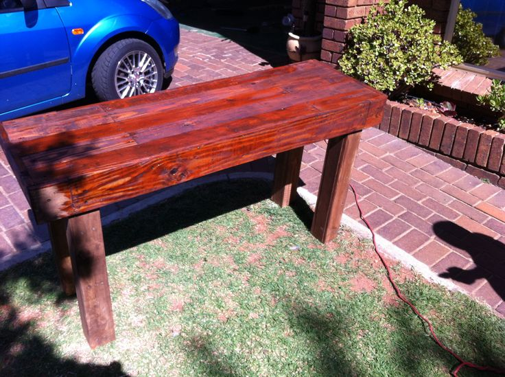 Pallet Entrance Hall Table