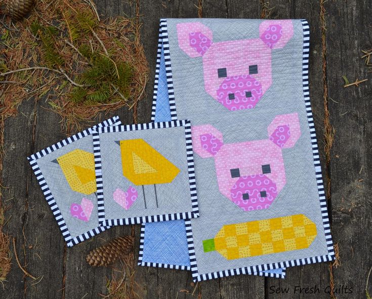 Sew Fresh Quilts: Farm Girl Vintage blog tour