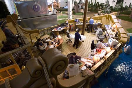 Office Spaces: Creative Workplaces That looks Like The Willy Wonka Factory