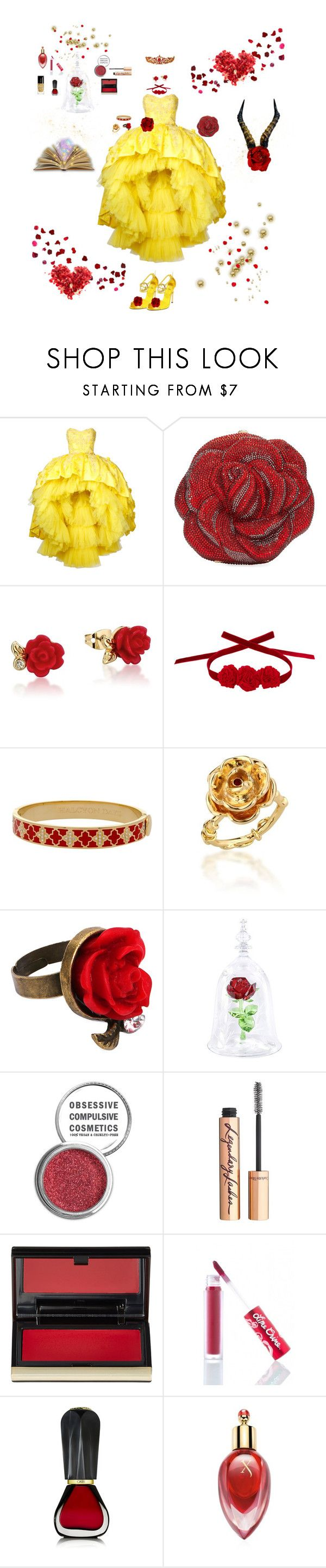 """""""Best of Beauty"""" by blackmagicmomma ❤ liked on Polyvore featuring Mikael D, Gucci, Judith Leiber, Disney, Vjera Vilicnik, Halcyon Days, Obsessive Compulsive Cosmetics, Charlotte Tilbury, Kevyn Aucoin and Lime Crime"""