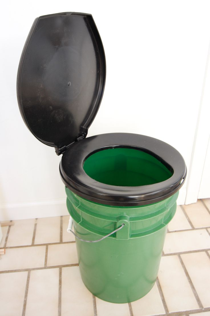 Bucket Toilet Seat For Camping Survival Camping