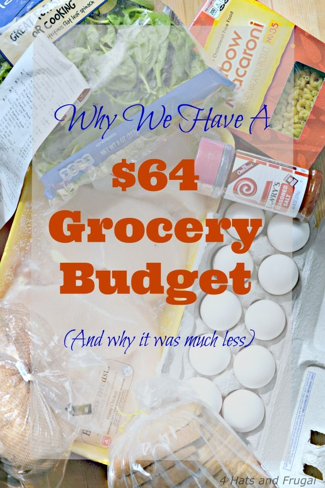This mom shares why her family of 5 has a $64 grocery budget, and why it used to be much less.