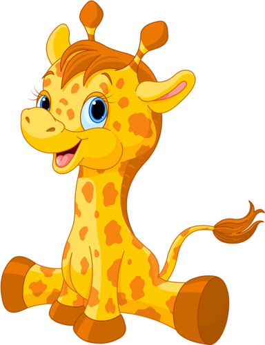 heart necklaces Cute baby giraffe