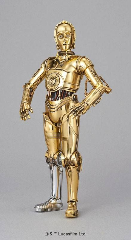 ToyzMag.com » Bandai Model Kit : nouvelles images de C-3PO