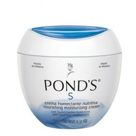 Ponds Crema S, 14.1-Ounce, (moisturizer, ponds, skin care, creams, anti-dark, face treatments, classic beauty product, clear skin, blackheads, rosacea)