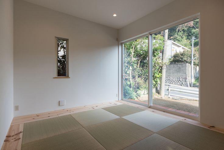 ENJOYWORKS/エンジョイワークス/スケルトンハウス/skeletonhouse/facade/ファサード/2017年グッドデザイン賞/和室/japaneseroom/畳/tatami
