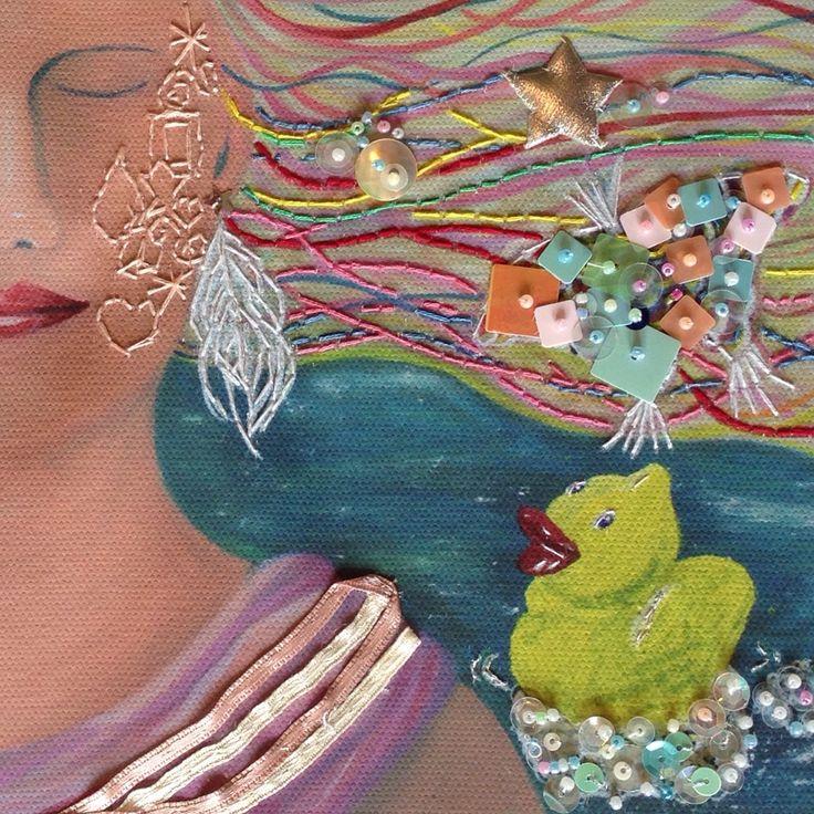 Seeing into Art - Art Challenge #inspirebykim #art #52artchallenges #sheffieldart