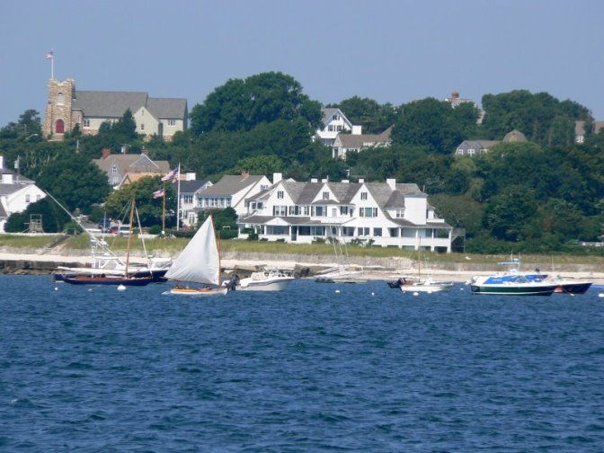 The Kennedy Home, Hyannis Port, Massachusetts - This is not that far from my Nana's house.  I wish I was there right now!