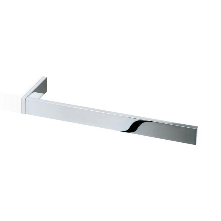 Beautiful Square Chrome towel Bar