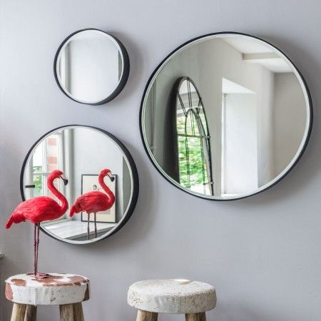 Eli Round Mirrors - View All Mirrors - Mirrors - Lighting