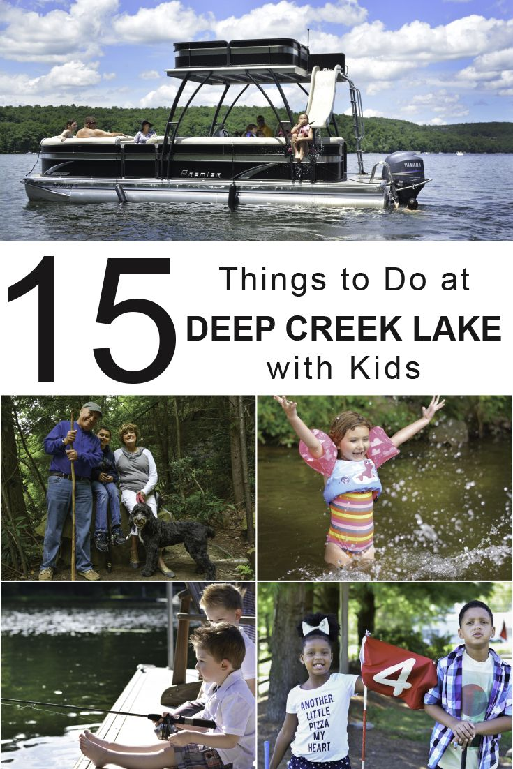 See the best activities for kids at Deep Creek Lake!