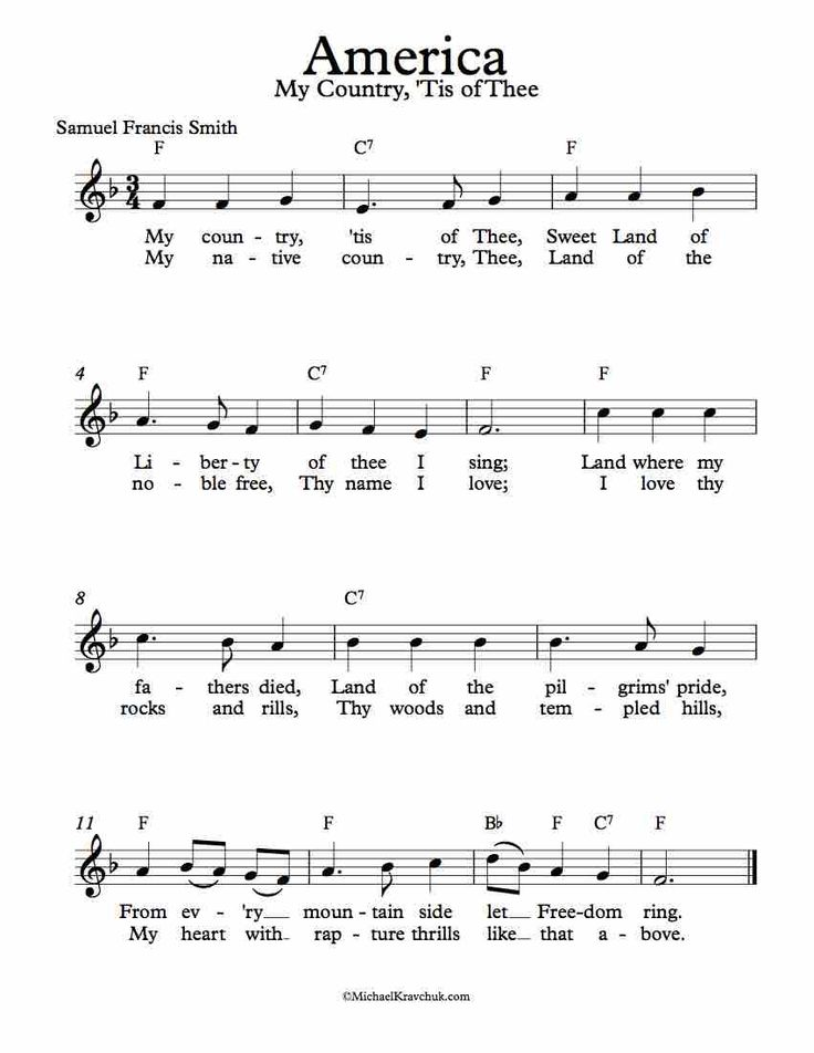 Lyric my country tis of thee lyrics : 410 best Fiddling Around images on Pinterest   Lead sheet, Free ...