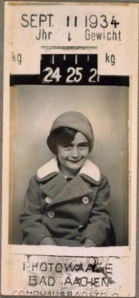 Anne Frank, 1934