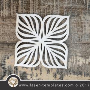 Laser cut coaster template. Leaf design, free Vector patterns every day. Leaf
