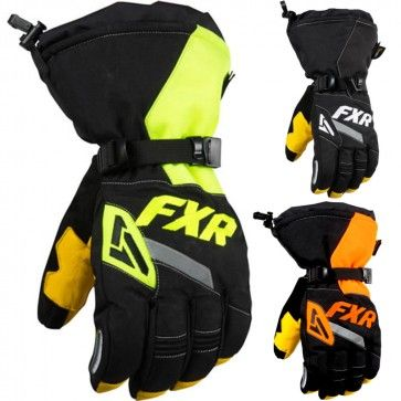 FXR Racing CX Mens Snowboard Skiing Snowmobile Gloves
