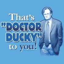 #ncis #popfunk #ducky This design is available as a Tshirt here: $21.00 http://www.popfunk.com/mens-tees/cbs-primetime/ncis/ncis-doctor-ducky.html