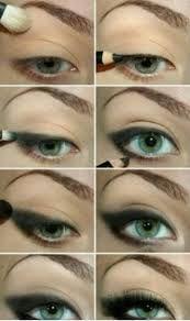 buğulu göz makyajı nasıl yapılır diyenlere resimli ile ilgili görsel sonucu